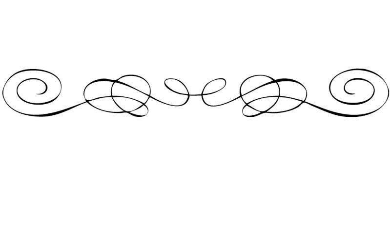 Underline Fancy Lines 25fvjr Clipart on Swirl Border Clip Art
